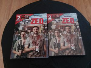 Better off zed slipcover and 2 movies for Sale in Waddell, AZ