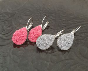 Avaya Designs Teardrop Druzy Earrings Bundle for Sale in Wichita, KS