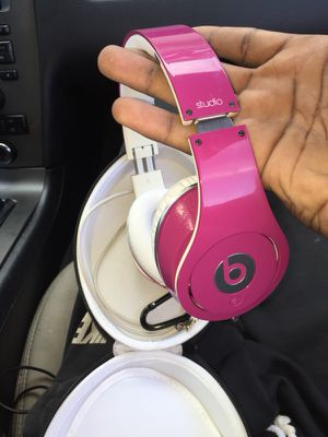 Pink studio beats for $50 for Sale in Tampa, FL