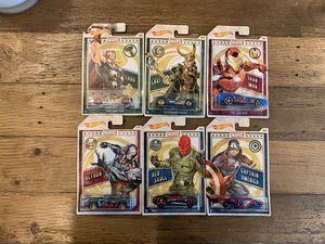Hot Wheels Marvel Complete Set for Sale in Los Angeles, CA