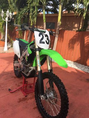Kx450FI 2012 with title (perfect holiday gift and ready for MLK) for Sale in Hialeah, FL