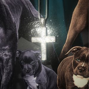 Silver Cross Chain for Sale in Manteca, CA