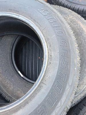 3 Bridgestone dueler h/l 245/75r16 tires for Sale in Anaheim, CA