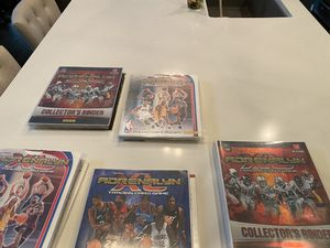 Sports cards with binders for Sale in Plano, TX