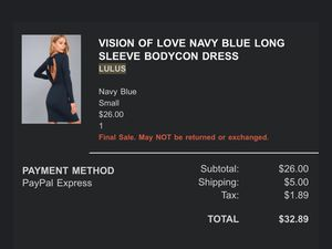 NAVY BLUE BODYCON DRESS for Sale in Hayward, CA