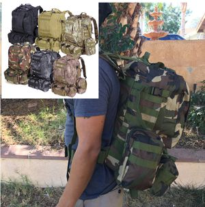 New 55L camping Hiking Backpacking rucksack backpack tactical molle design for Sale in Riverside, CA