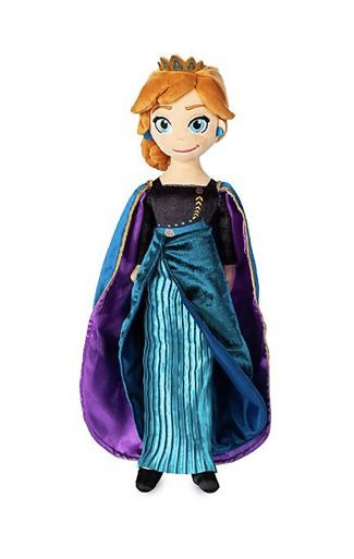 "Two official Frozen Anna and Elsa plushies. NWT . 18"" tall"