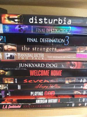 Thriller dvd bundle for Sale in Aberdeen, WA