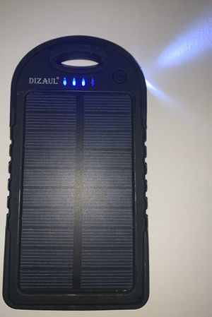 Dizaul Solar Charger for Sale in San Diego, CA