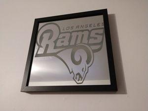 Rams Mirror for Sale in Clovis, CA