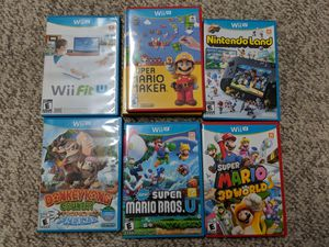 Wii U Games for Sale in Franklin Township, NJ