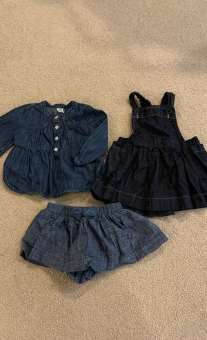 Baby Gap denim clothes 6-12 months for Sale in Mill Creek, WA