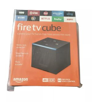 Fire TV Cube 4K ultra hd for Sale in Stone Mountain, GA
