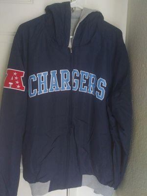 NFL Shop L.A. Chargers Reversible Jacket/Vest Combo for Sale in Las Vegas, NV