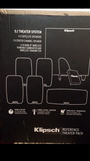Klipsch home theater pack for Sale in San Francisco, CA