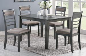 5-pcs dining table on sale @Elegant Furniture 🎈🛋 for Sale in Fresno, CA