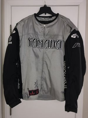 Men's Yamaha motorcycle jacket by Joe Rocket for Sale in Blacklick, OH
