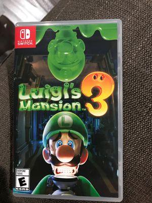 Luigis mansion 3 for Sale in Anaheim, CA