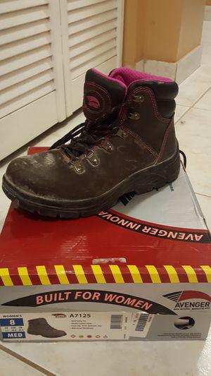 Avenger Steel Toe Work Boot Women Size 8 for Sale in Miami, FL