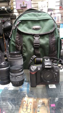 NIKON D70S CAMERA WITH 3 LENSES AND ACCESSORIES for Sale in Phoenix,  AZ