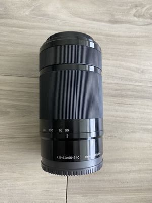 Sony 55-210mm OSS lens E mount for Sale in Tampa, FL