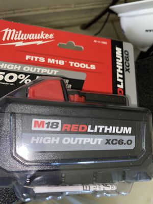 Milwaukee XC6.0 Battery for Sale in Pasadena, TX