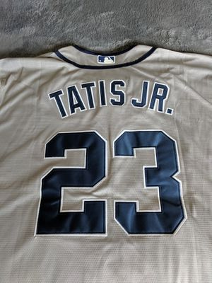 NEW FERNANDO TATIS JR. BASEBALL JERSEY SIZE L LARGE ALMOST AUTHENTIC! for Sale in Temecula, CA