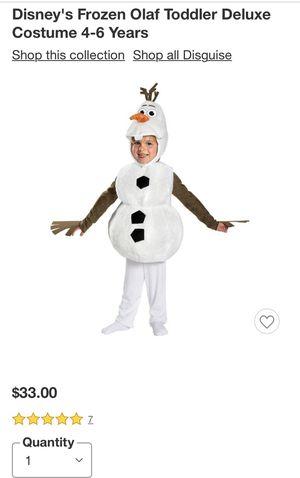 Frozen Olaf Costume for Sale in Redondo Beach, CA