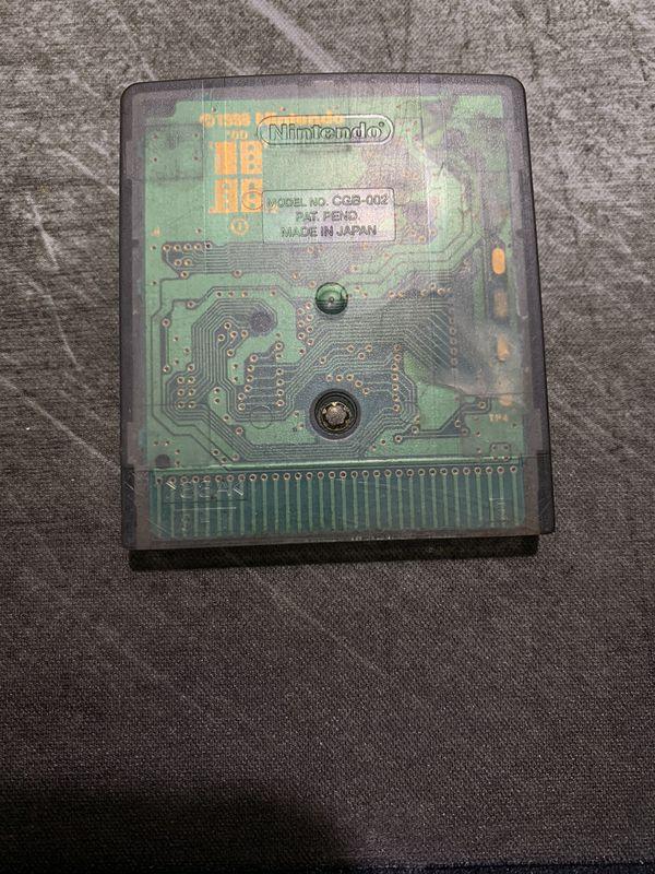Gameboy Color Wario Land 3