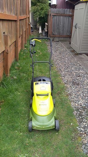 SUNJOE electric lawn mower corded for Sale in Portland, OR