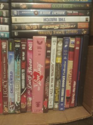 95 dvd's all kinds of movies. I will take 80.00 OBO for all movies. There is a few collections included for Sale in Auburn, GA