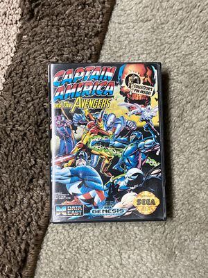 Captain America and The Avengers Sega Game for Sale in Seat Pleasant, MD