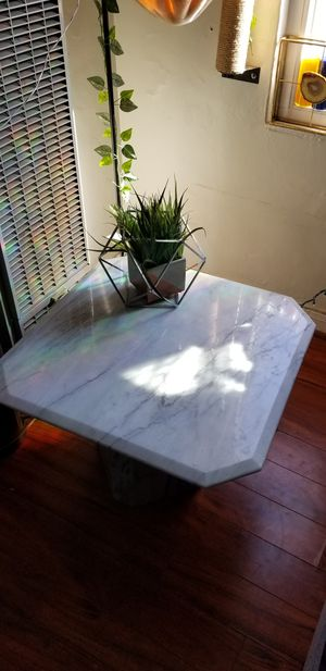 High End Custom Marble living room dining set (Coffee table and 2 end tables) for Sale in West Hollywood, CA