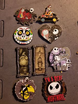 Nightmare Before Christmas Disney pins for Sale in Claymont, DE