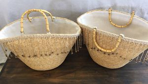 2 beach bags for Sale in Irving, TX