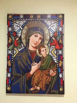 New Mother Mary Canvas Painting for Sale in Kirkland, WA