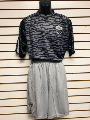 Soccer uniforms uniformes de futbol army Roma gray for Sale in Los Angeles, CA