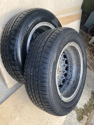 205/60/r15 hankook tires for Sale in Maple Valley, WA