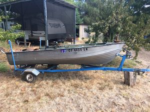 ALUMINUM BOAT for Sale in Citrus Heights, CA
