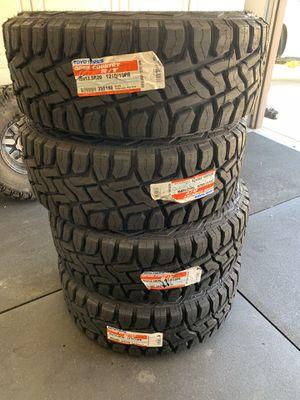 "Toyo tires 35"" brand new for Sale in Murrieta, CA"