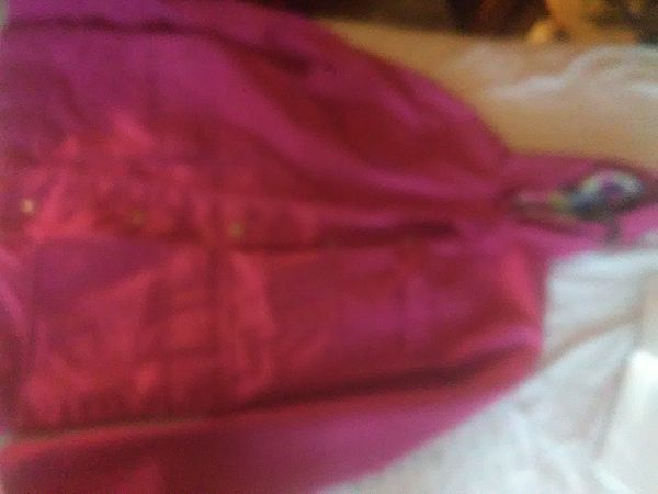 Rock Creek trading co pink jacket with hoodie woman's