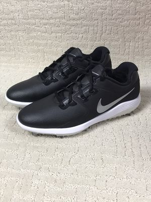 NEW - $130 NIKE Men's Vapor Pro Golf Cleats Shoes AQ2197-001 Black size US 10 New without box for Sale in Buckhannon, WV