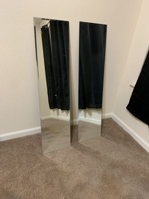 Two wall mirrors for Sale in Capitol Heights, MD