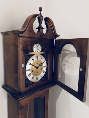 Western Germany Tempus Fugit Grandfather Clock for Sale in San Diego, CA