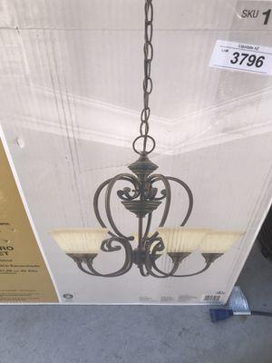 Hampton Bay Rubbed Bronze Somerset Candelier for Sale in Gilbert, AZ