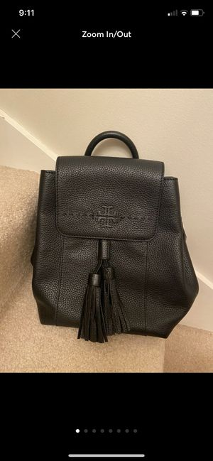NWT Tory Burch mini leather backpack for Sale in Woodway, WA