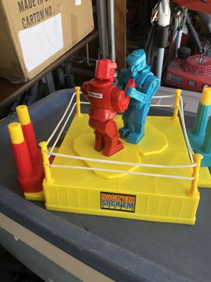 Rocket socket robots! Flashback toy fun! for Sale in Clermont, FL