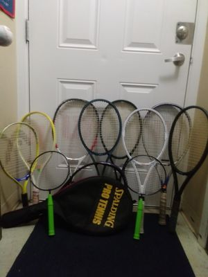 (9) Bundle of Top Brands of Tennis Racquets in Great Conditions!⭐⭐MAKE AN OFFER⭐⭐ for Sale in Miami, FL