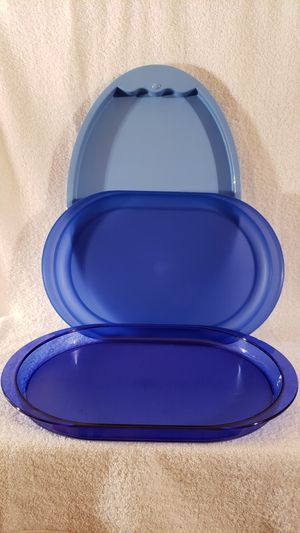Tupperware Tray set-3 pc set for Sale in Palmyra, VA