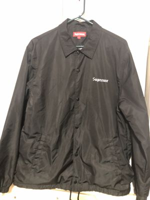 SUPREME NAN GOLDIN COACHES JACKET szL for Sale in Nashville, TN